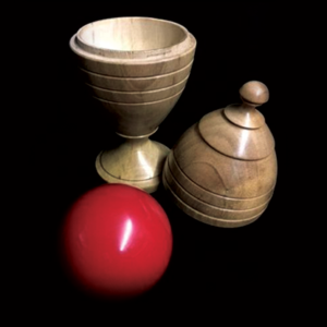 Deluxe Wooden Ball Vase by Merlins Magic – Trick