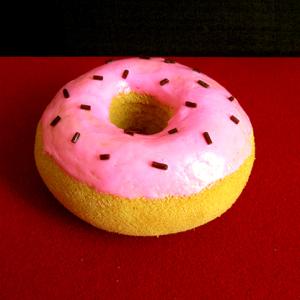 Sponge Pink Doughnut (Sprinkles) by Alexander May – Trick