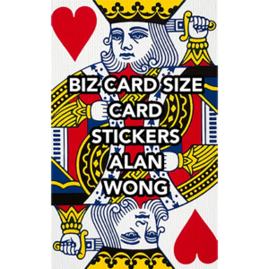 Business Card Stickers by Alan Wong – Trick