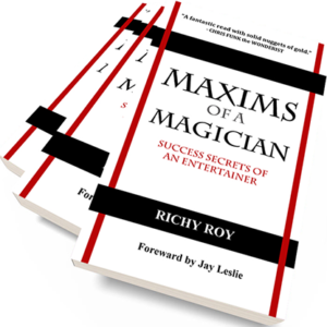 Maxims of a Magician by Richy Roy – Book