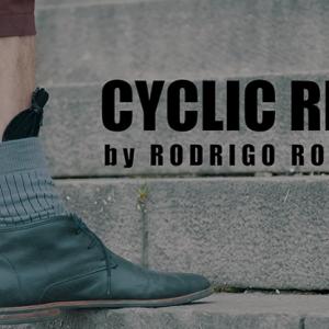 CYCLIC RING (Black Gimmick and Online Instructions) by Rodrigo Romano – Trick