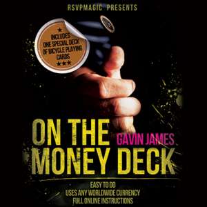On the Money (Gimmick and Online Instructions) by Gavin James – Trick