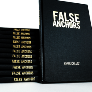 False Anchors Set (Book and Gimmick) by Ryan Schlutz – Book