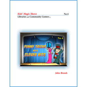 FUNNY TRICKS with CLEVER BITS by John Breeds – Book