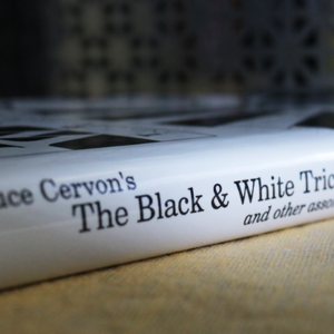 Bruce Cervon's The Black and White Trick and other assorted Mysteries by Mike Maxwell – Book