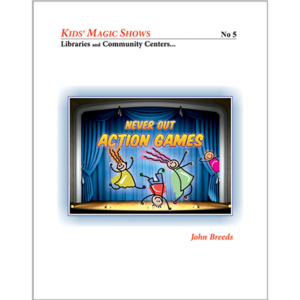 Never Out Action Games by John Breeds   – Book