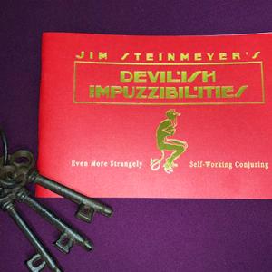 Devilish  Impuzzibilities by Jim Steinmeyer – Book