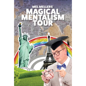 The Magical Mentalism Tour by Mel Mellers – Book