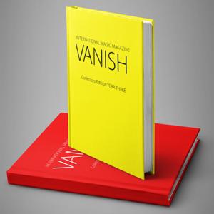 VANISH MAGIC MAGAZINE Collectors Edition Year Three (Hardcover) by Vanish Magazine – Book