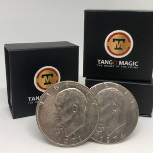 Tango Ultimate Coin (T.U.C)(D0109) Eisenhower Dollar with instructional DVD by Tango – Trick