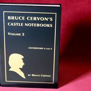 Bruce Cervon Castle Notebook, Vol. 2 – Book