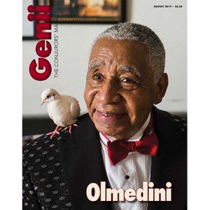 """Genii Magazine """"Olmedini"""" August 2019 – Book"""