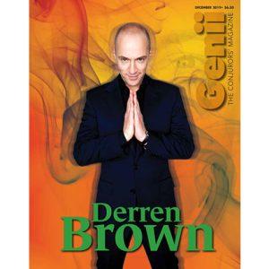 """Genii Magazine """"Derren Brown"""" December 2019 – Book"""