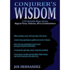 Conjuror's Wisdom by Joe Hernandez – Book