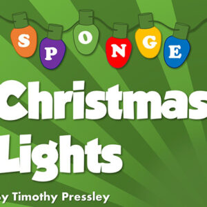 Super-Soft Sponge Christmas Lights by Timothy Pressley and Goshman- Trick