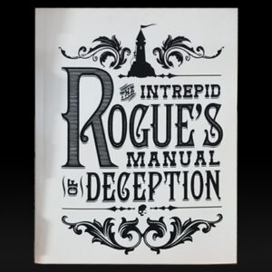 The Intrepid Rogue's Manual Of Deception (soft cover) by Atlas Brookings – Trick