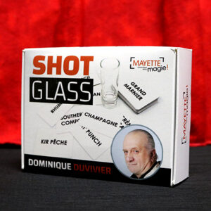 Shot Glass (Gimmicks and Online Instructions) by Dominque Duvivier – Trick