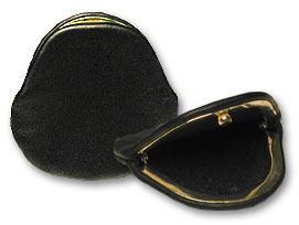 Coin Purse Leather by Magic By Gosh