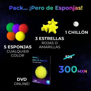 Pack esencial de Esponjas
