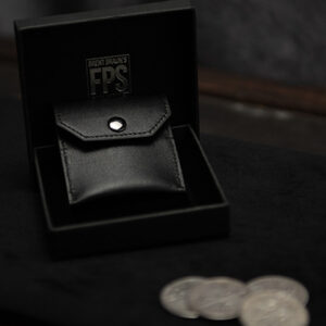 FPS Coin Wallet Black (Gimmicks and Online Instructions) by Magic Firm – Trick