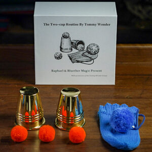 Tommy Wonder Cups & Balls Set (Brass) – Trick