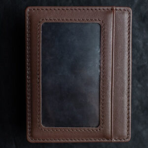Limited Edition Shadow Wallet Bourbon Tan Leather (Gimmick and Online Instructions) by Dee Christopher and 1914 – Trick