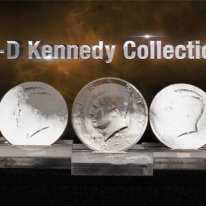 3D Kennedy Collection (Gimmicks and Online Instructions) by RPR Magic Innovations – Trick