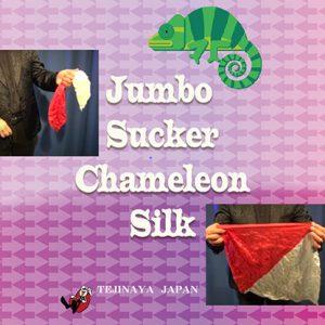Jumbo Sucker Chameleon Silk  by Tejinaya Magic – Trick