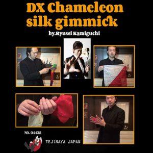 DX Chameleon Silk Gimmick by Ryusei Kamiguchi & Tejinaya Magic – Trick